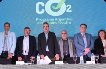Lanzamiento del Programa Argentino de Carbono Neutro para Alimentos, Bebidas y Bioenergías de Exportación