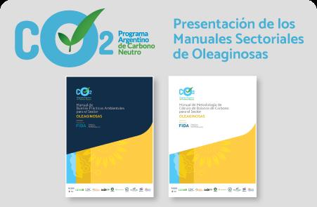 Presentación de los Manuales Sectoriales de Oleaginosas del PACN